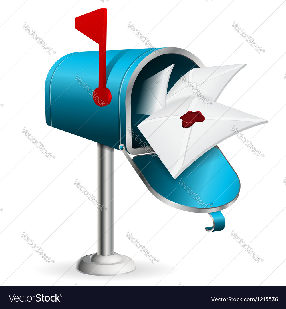 Mailbox vector | Price: 3 Credit (USD $3)