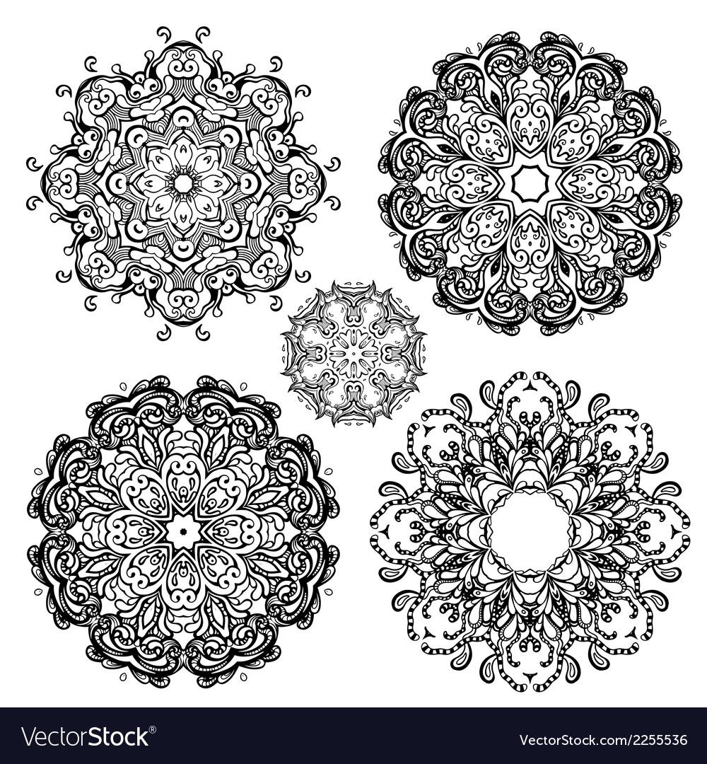 Mandala set vector | Price: 1 Credit (USD $1)