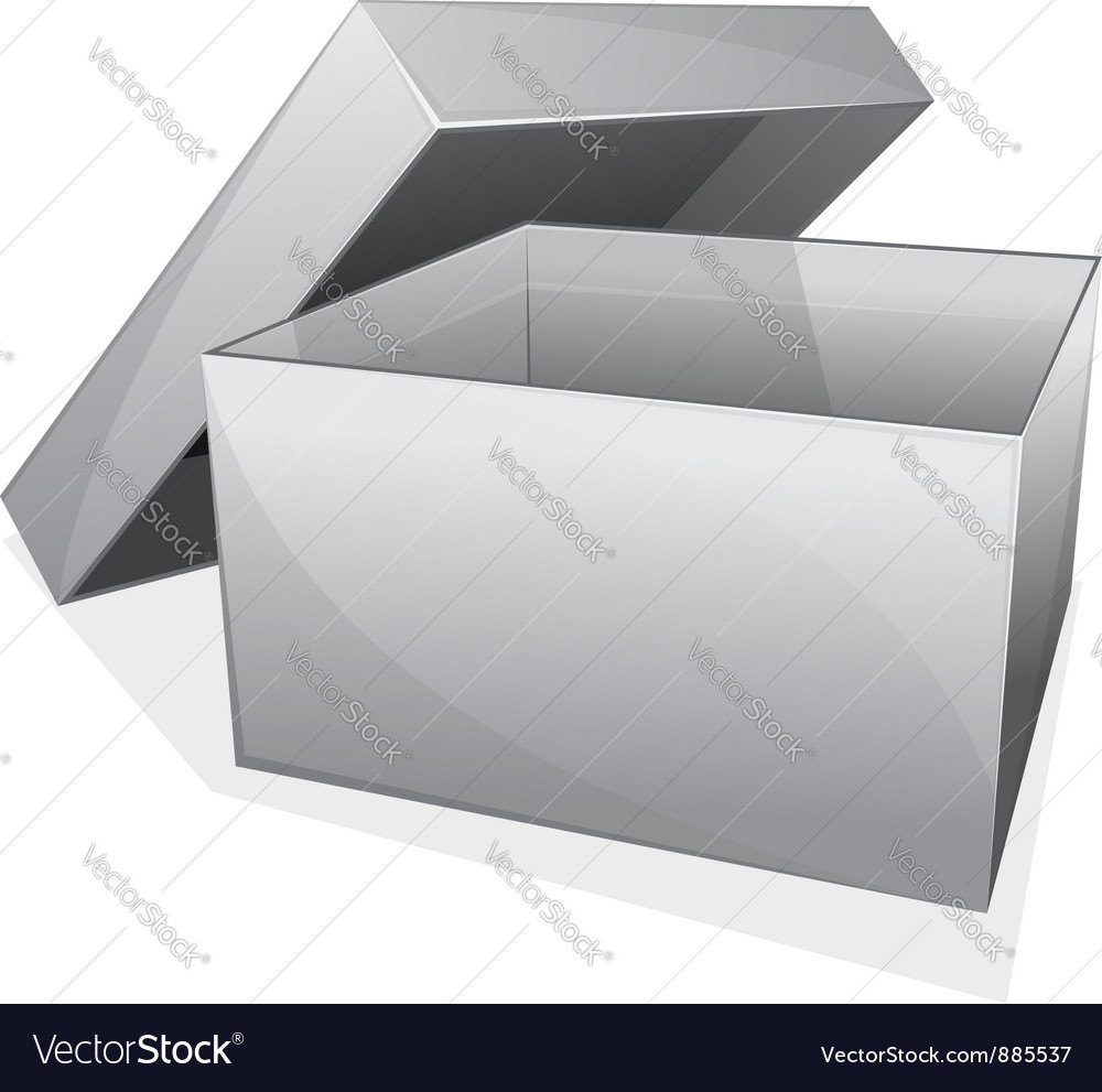 Empty box vector | Price: 1 Credit (USD $1)