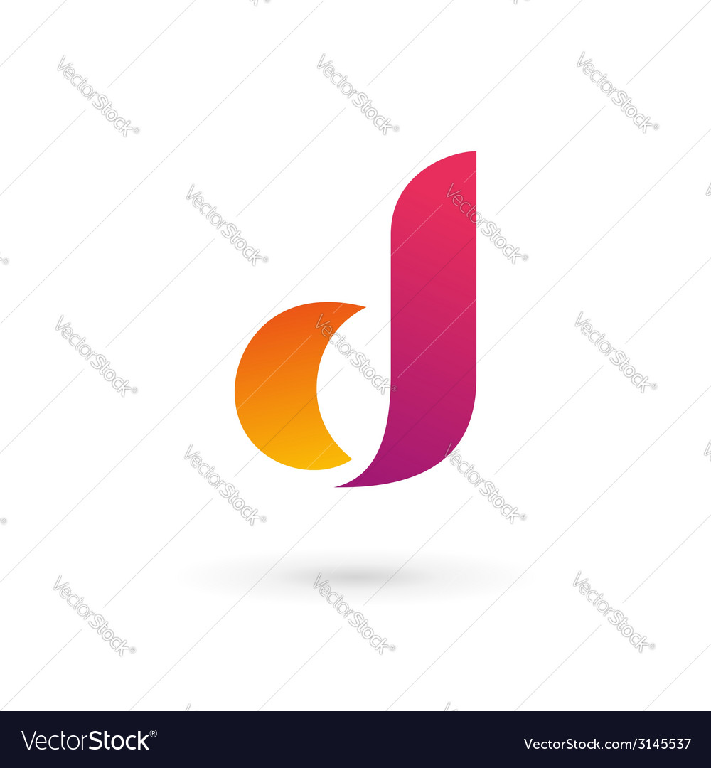 Letter d logo icon vector | Price: 1 Credit (USD $1)