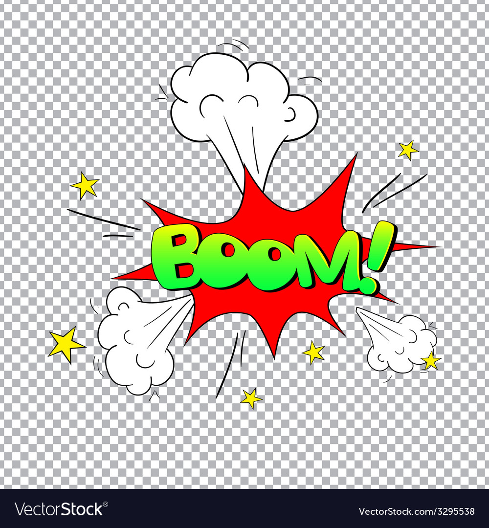 Comic bubbles isolated vector | Price: 1 Credit (USD $1)