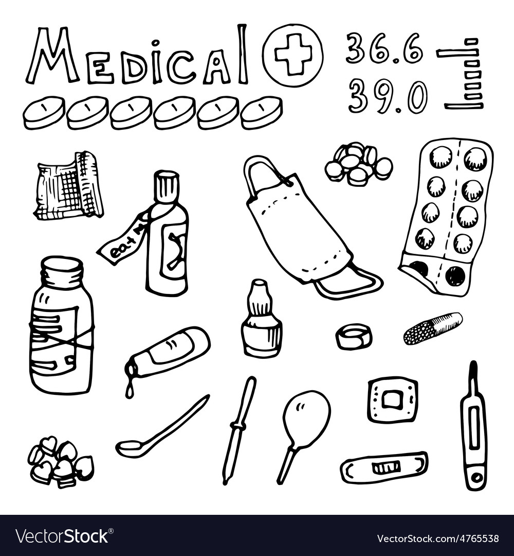 Medical topics vector | Price: 1 Credit (USD $1)