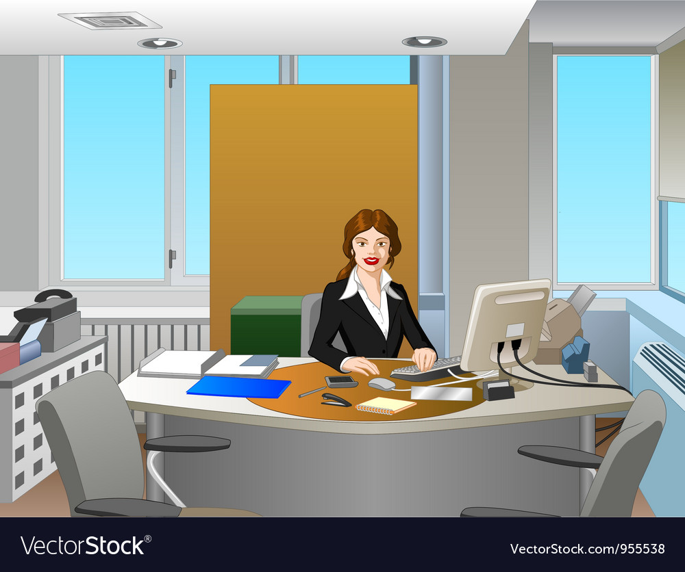 Office vector | Price: 3 Credit (USD $3)
