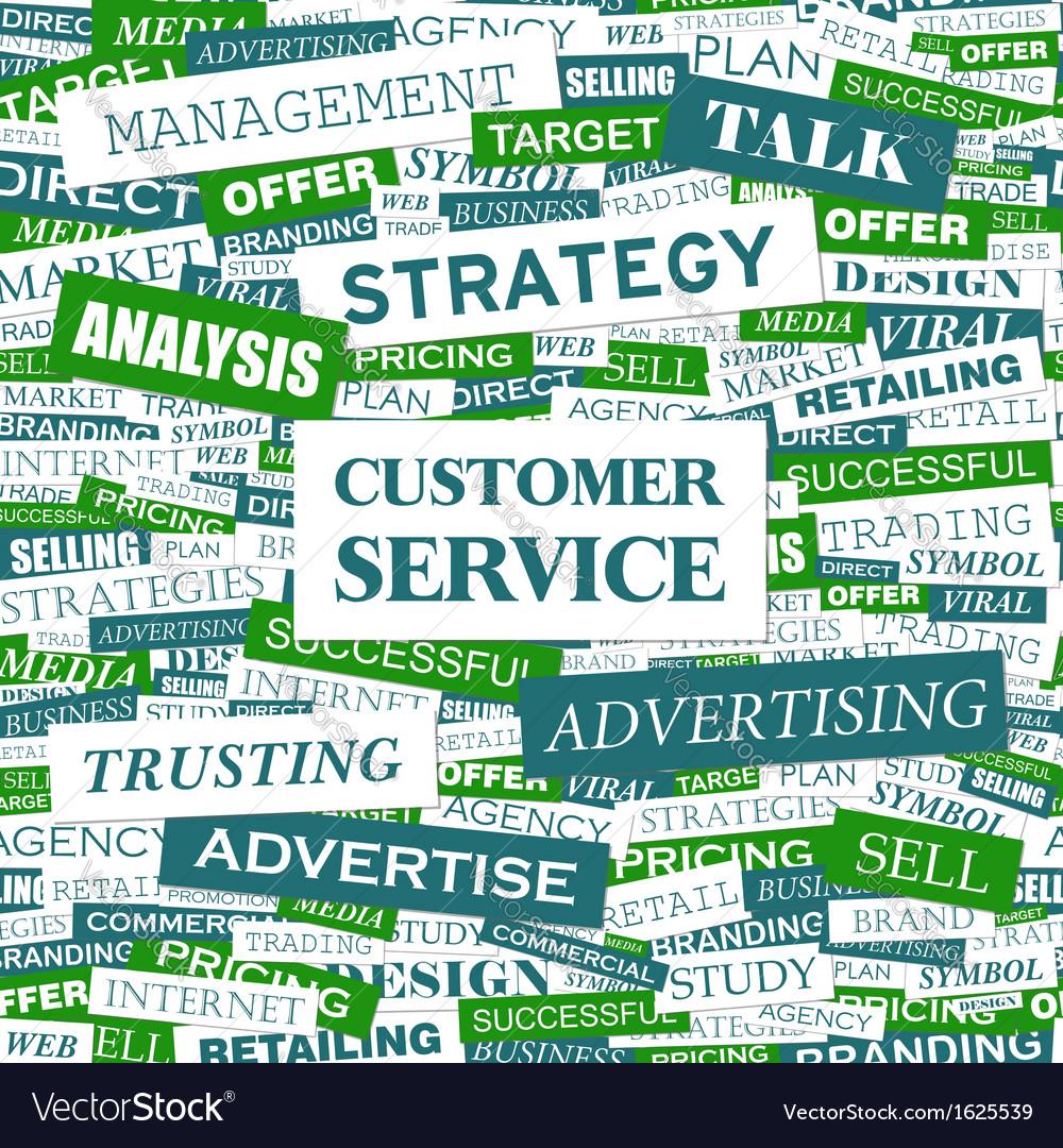 Customer service vector | Price: 1 Credit (USD $1)