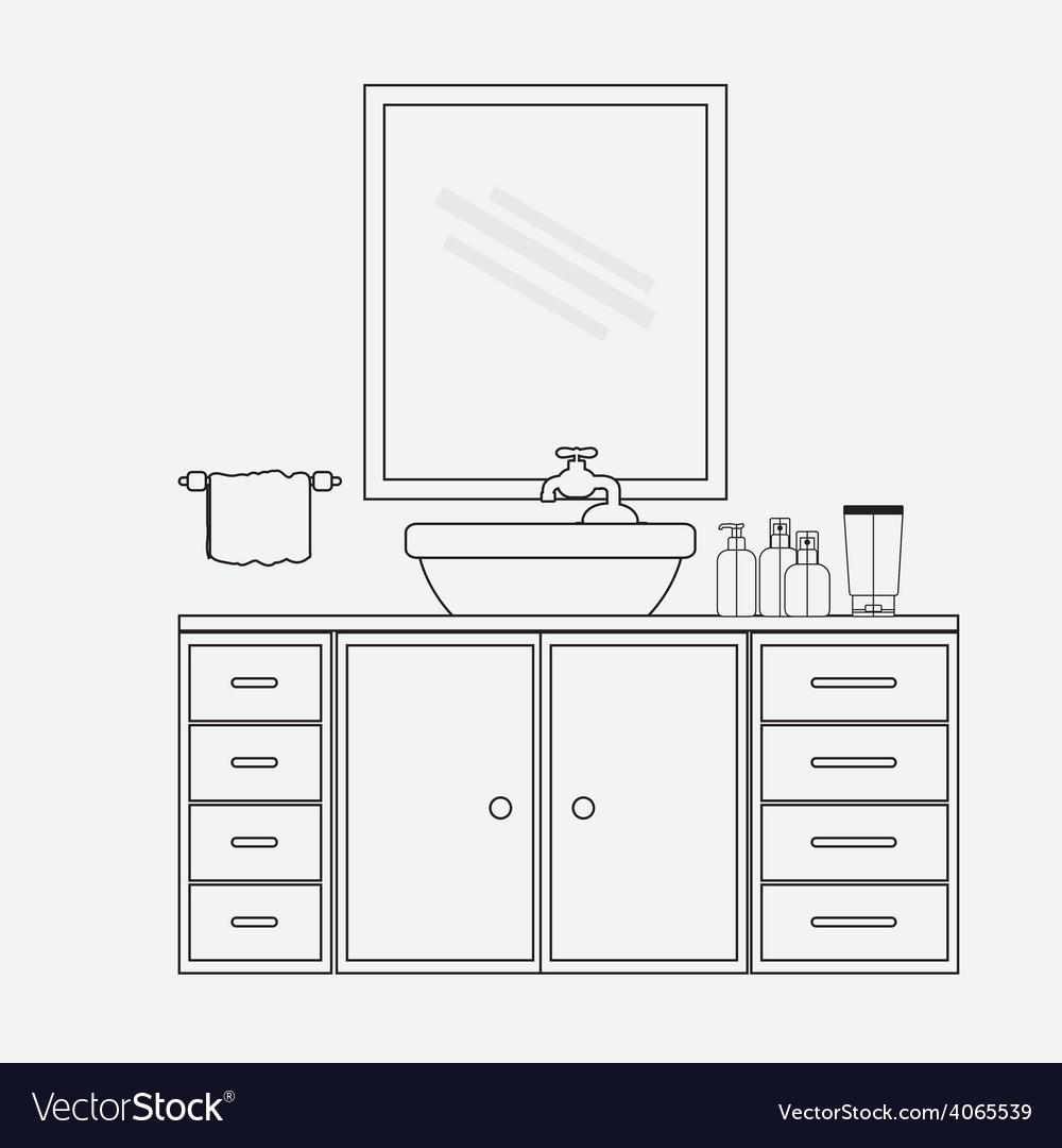 Furniture design vector | Price: 1 Credit (USD $1)