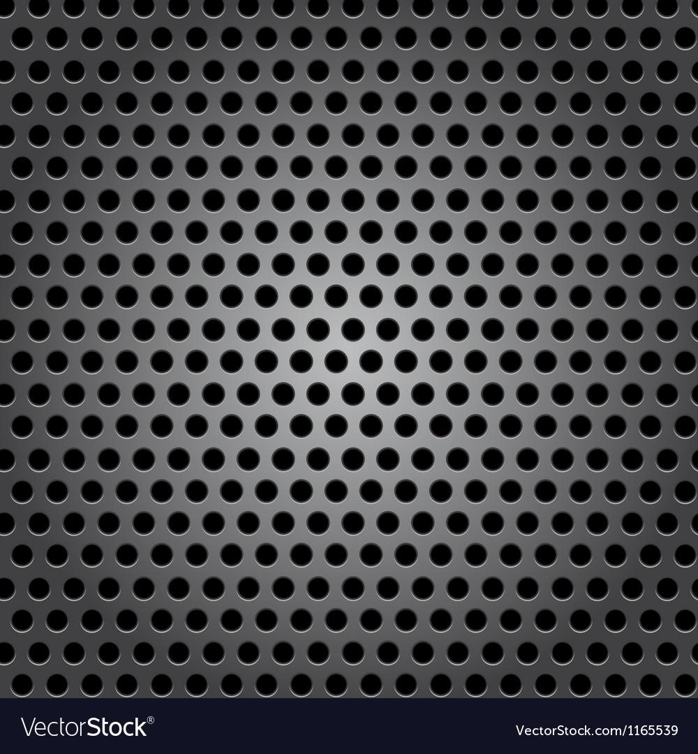 Seamless circle metal surface texture vector | Price: 1 Credit (USD $1)
