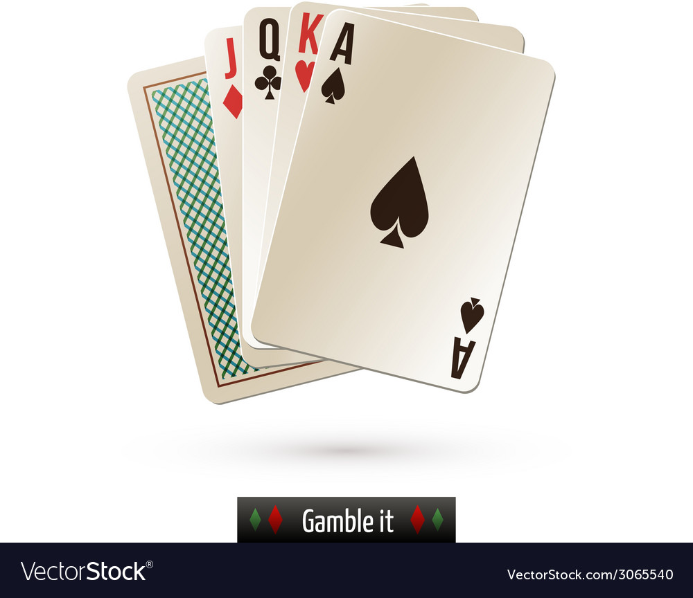 Game card isolated vector | Price: 1 Credit (USD $1)
