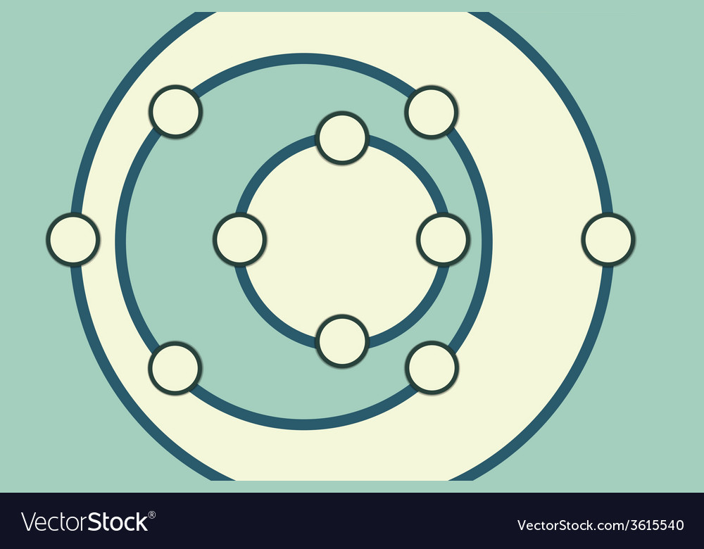 Rounds background vector | Price: 1 Credit (USD $1)