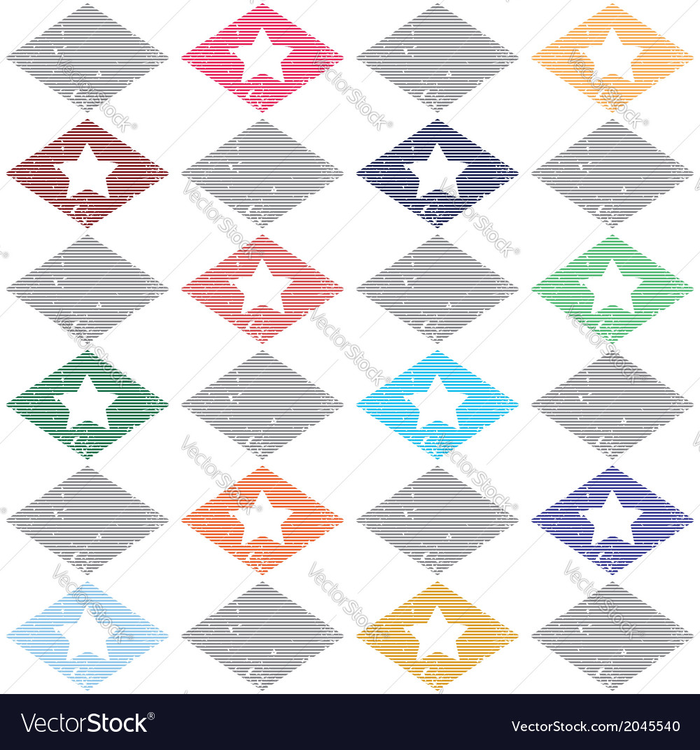 Seamless pattern casual star vector   Price: 1 Credit (USD $1)