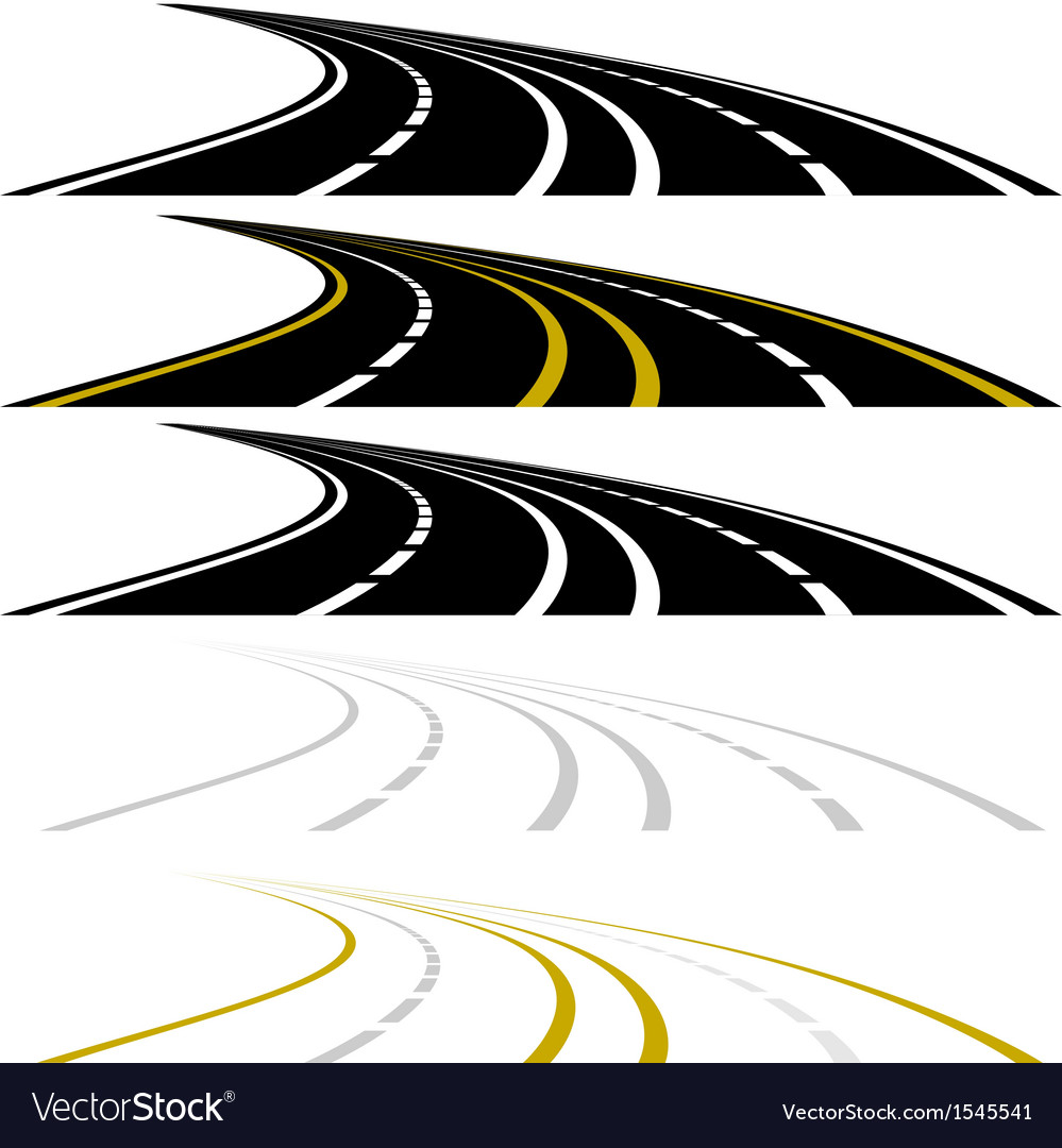 Highway vector | Price: 1 Credit (USD $1)