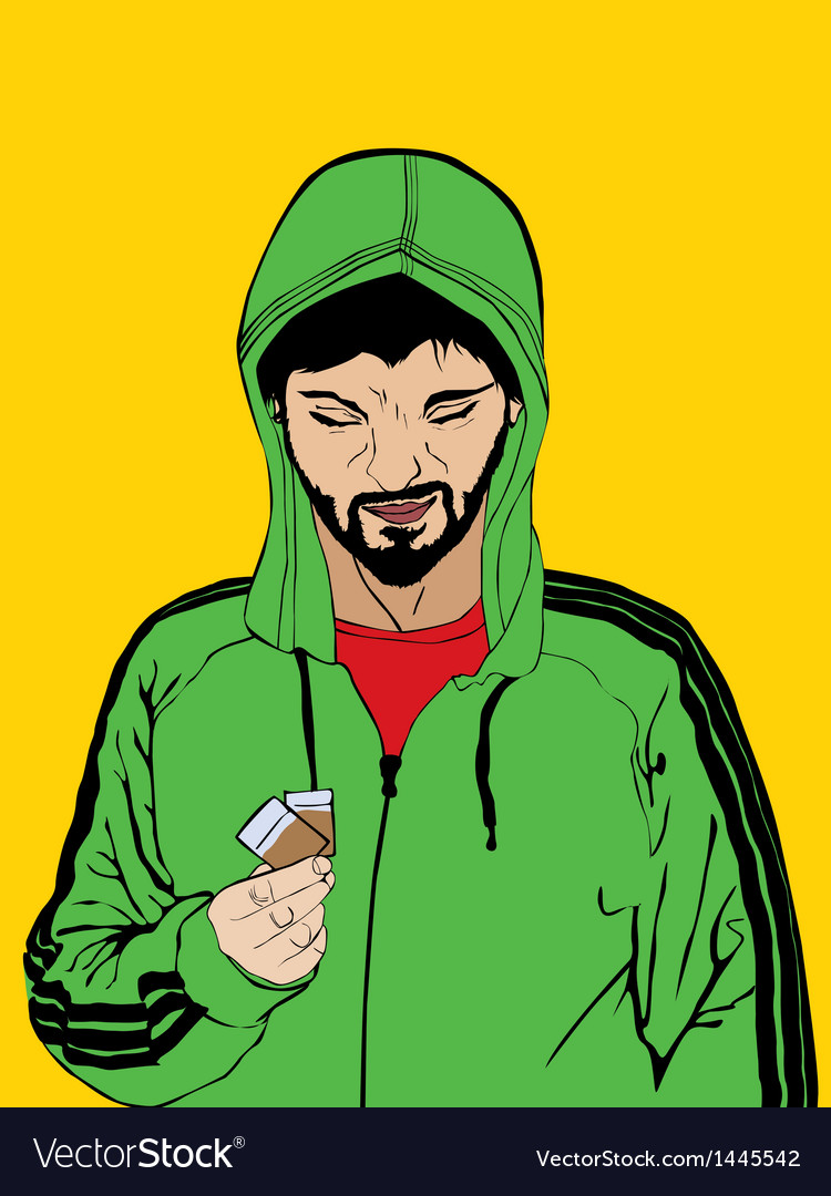 Drug dealer vector | Price: 3 Credit (USD $3)