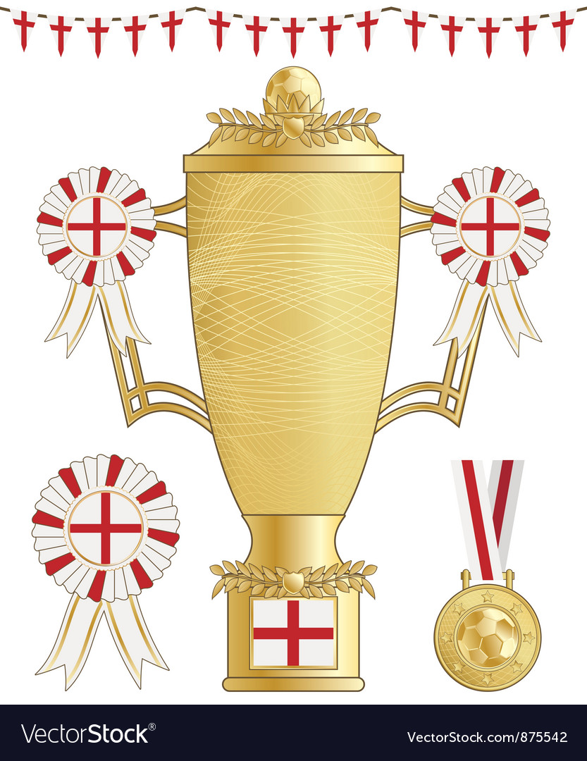 England football trophy vector | Price: 1 Credit (USD $1)