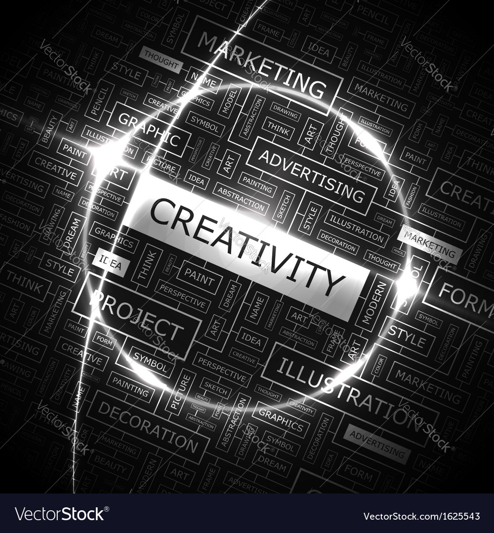 Creativity vector | Price: 1 Credit (USD $1)