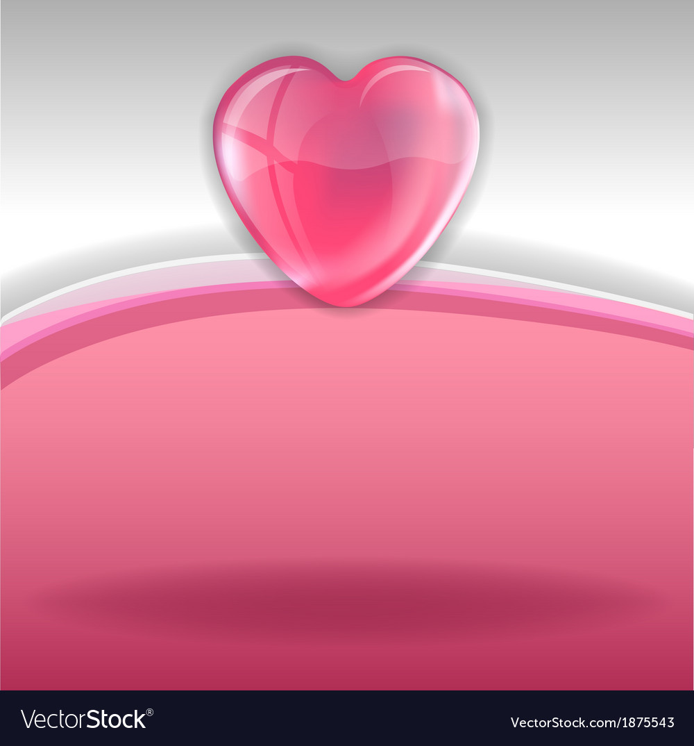 Hearts background pink white vector | Price: 1 Credit (USD $1)