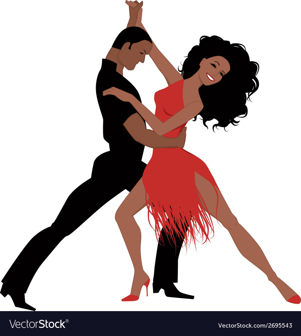 Latin dance vector | Price: 1 Credit (USD $1)