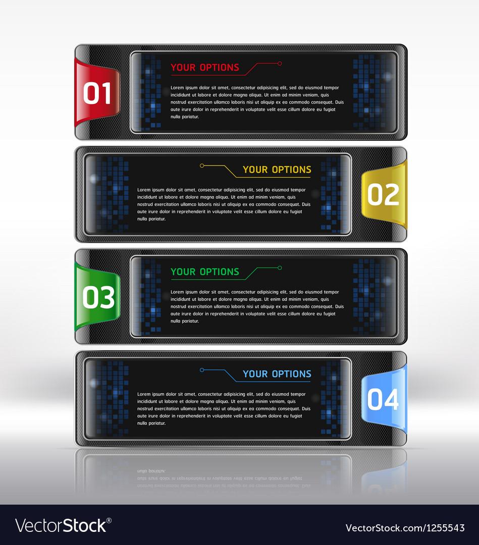 Modern web design template vector | Price: 1 Credit (USD $1)