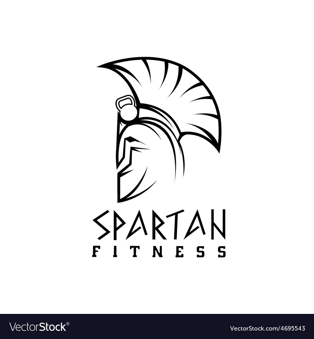Spartan fitness design template vector | Price: 1 Credit (USD $1)