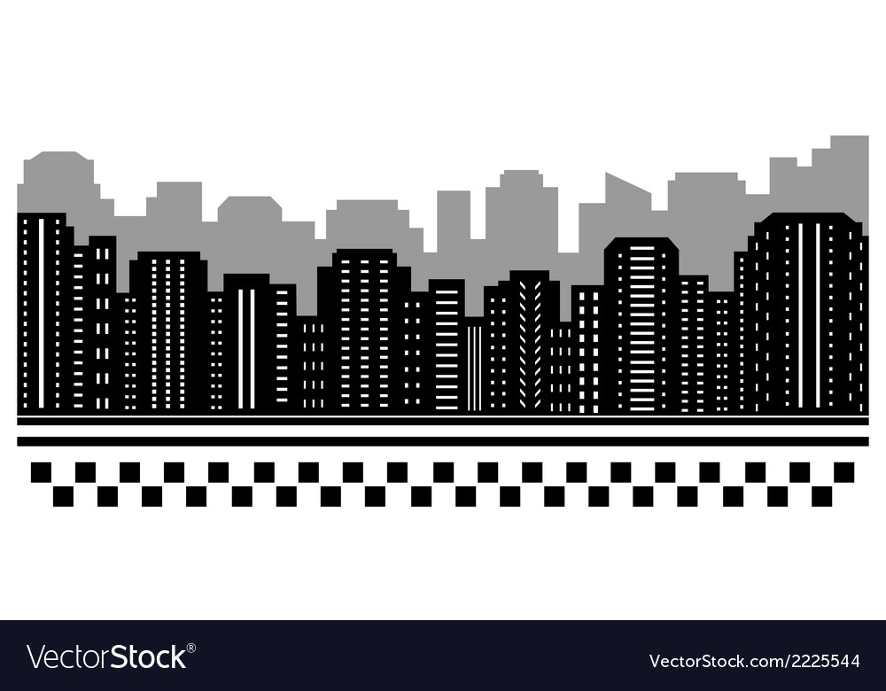Black urban background for taxi vector | Price: 1 Credit (USD $1)