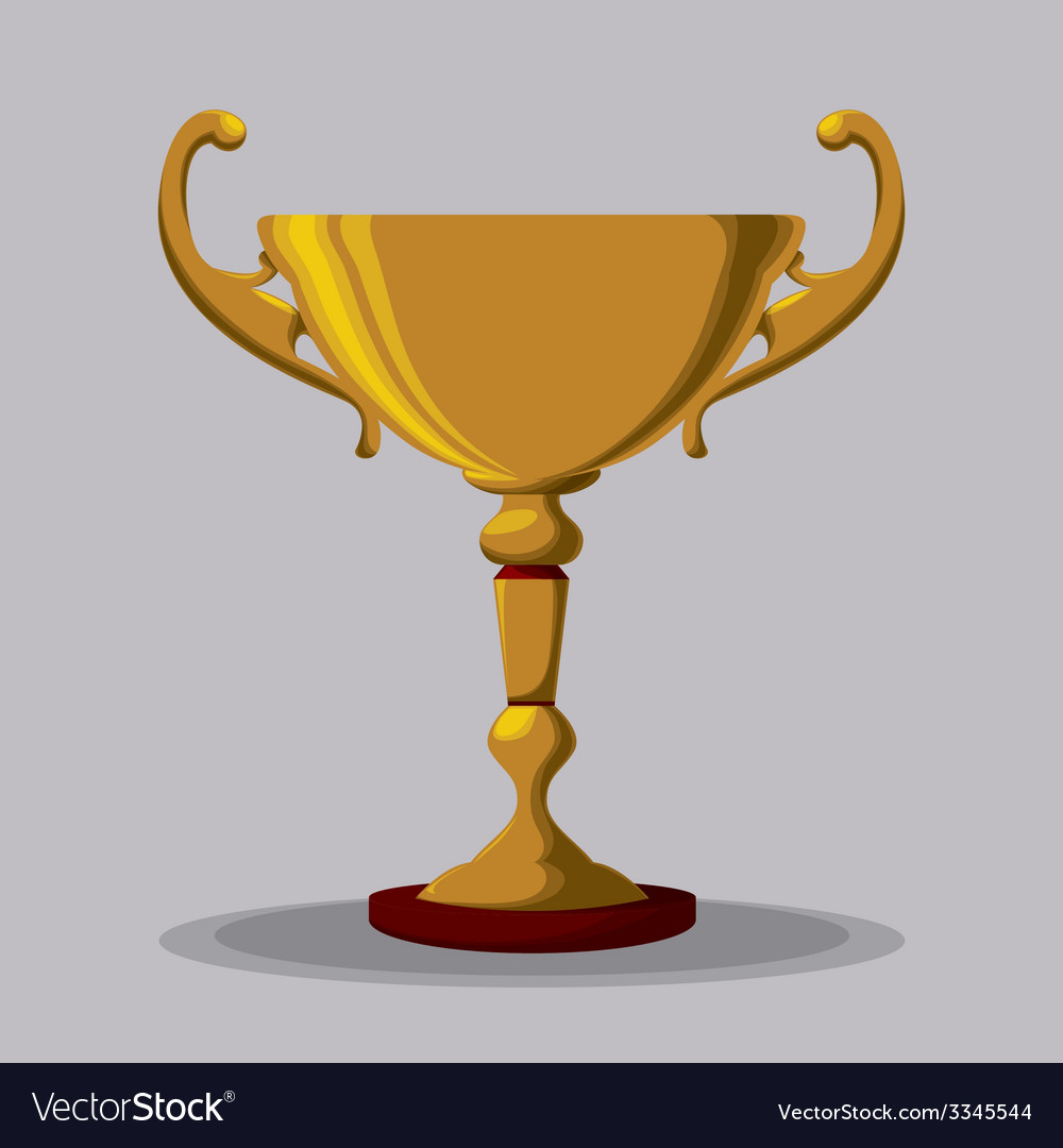 Trophy design vector | Price: 1 Credit (USD $1)