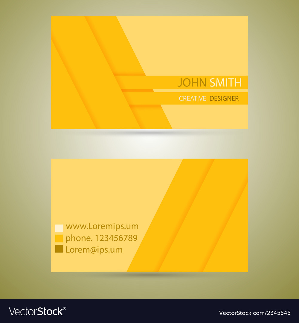 Business card template vector | Price: 1 Credit (USD $1)