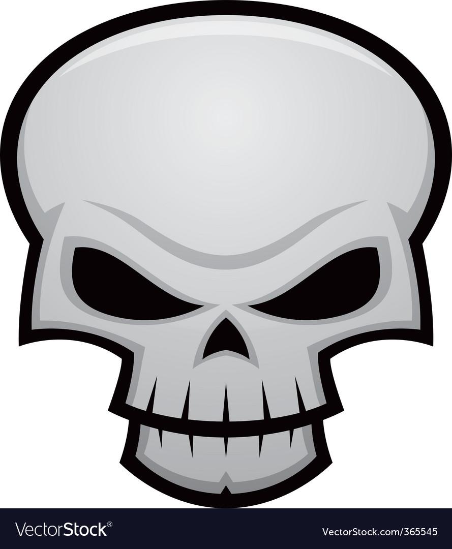 Evil skull vector | Price: 1 Credit (USD $1)