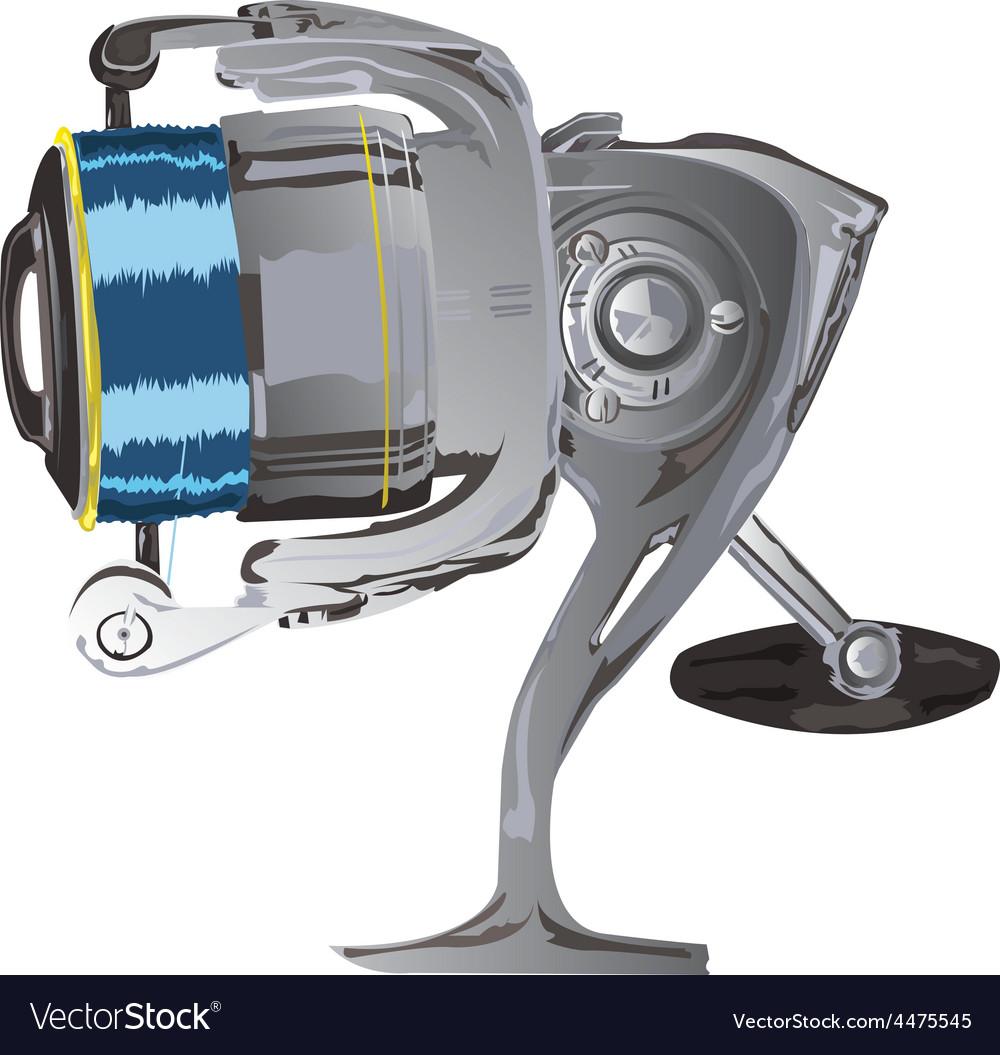 Fishing reel vector | Price: 1 Credit (USD $1)