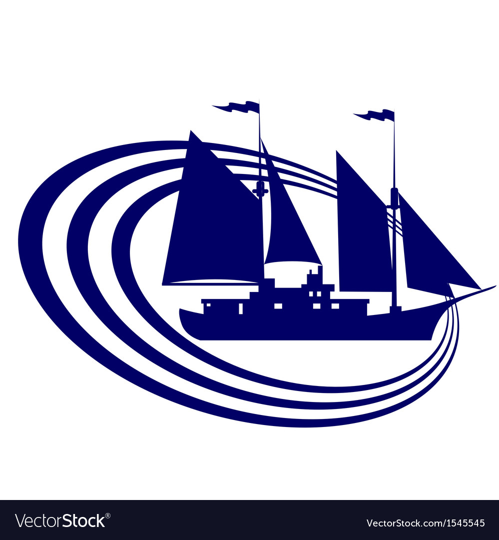 Sailing ship-12 vector | Price: 1 Credit (USD $1)