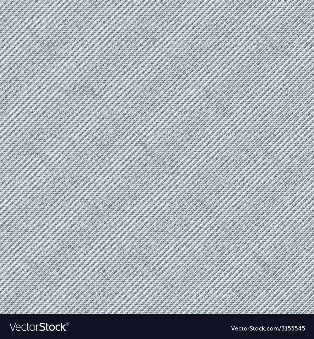 Seamless texture of gray denim diagonal hem vector | Price: 1 Credit (USD $1)