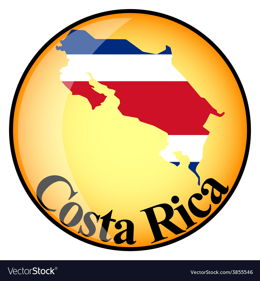 Button costa rica vector | Price: 1 Credit (USD $1)
