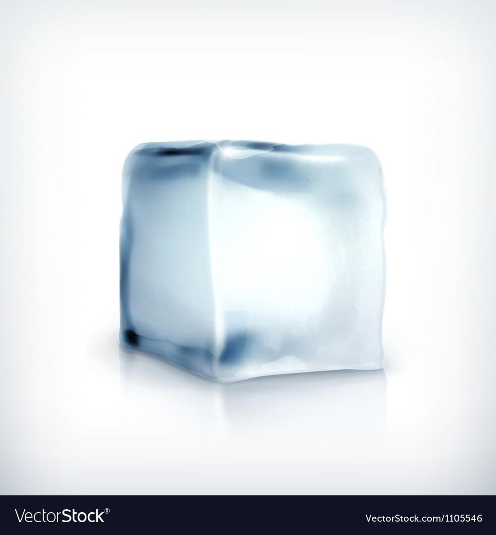 Ice cube vector | Price: 1 Credit (USD $1)