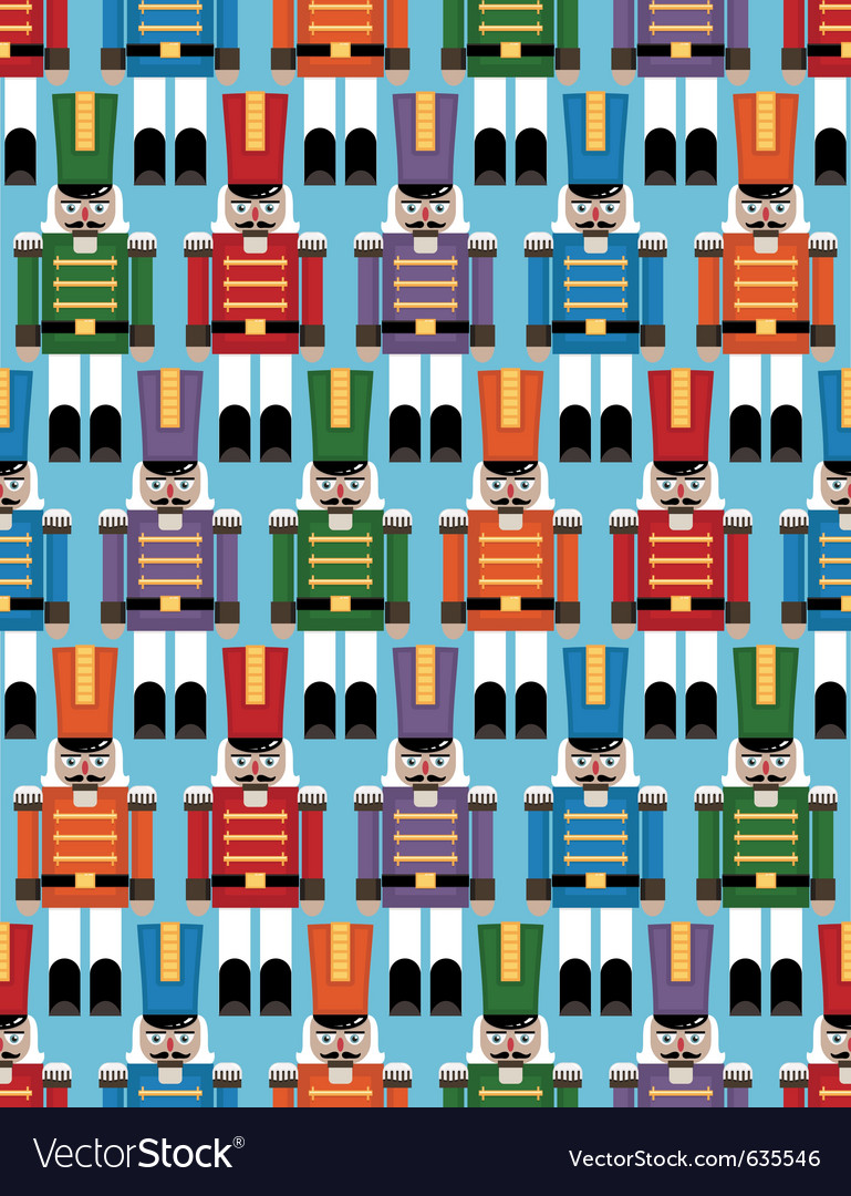 Nutcracker pattern vector | Price: 1 Credit (USD $1)