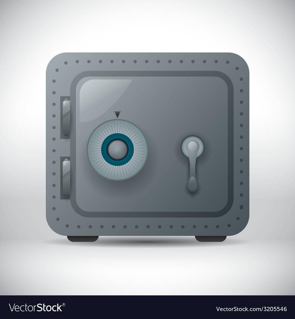 Secure box design vector | Price: 1 Credit (USD $1)