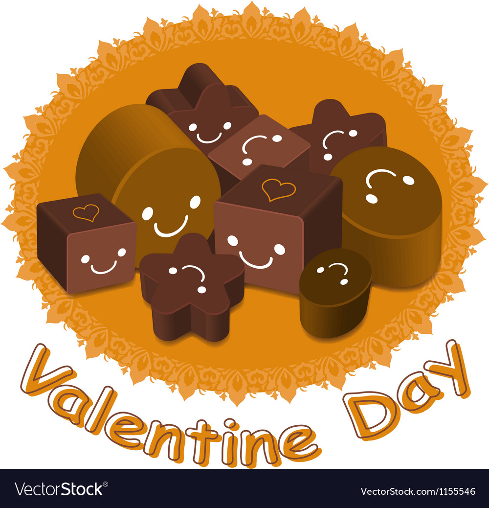 Variety of chocolate collection vector | Price: 1 Credit (USD $1)