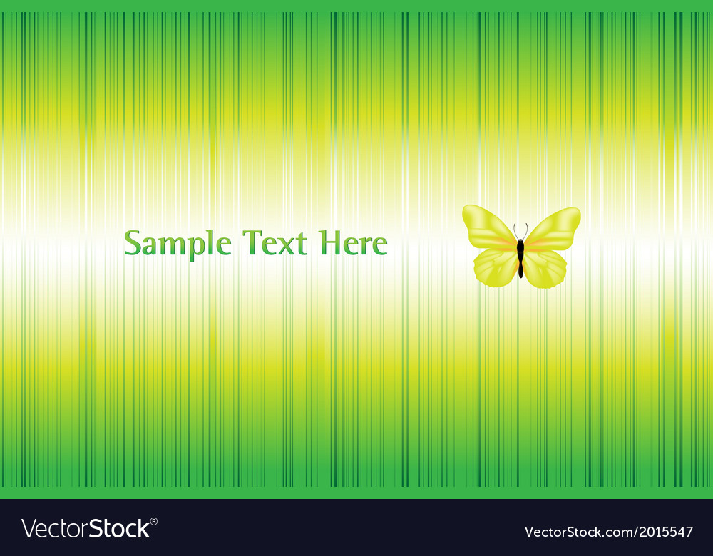 Bright background with butterfly vector | Price: 1 Credit (USD $1)