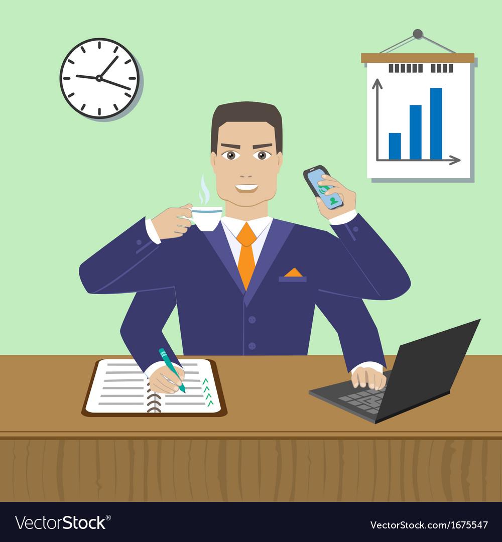 Employee vector | Price: 1 Credit (USD $1)