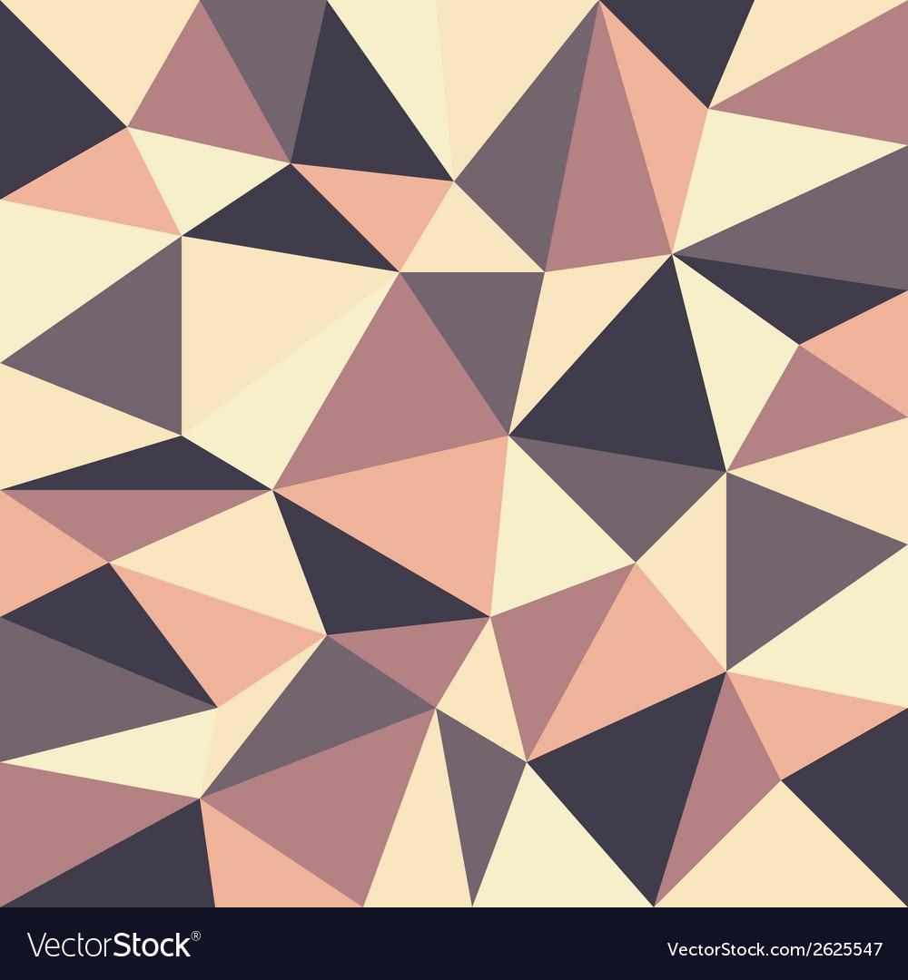 Triangular retro background vector | Price: 1 Credit (USD $1)
