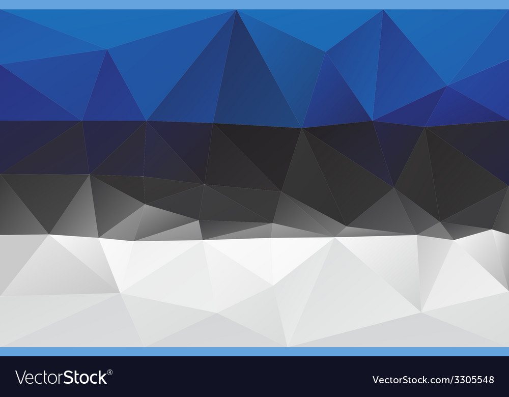 Estonian flag vector | Price: 1 Credit (USD $1)