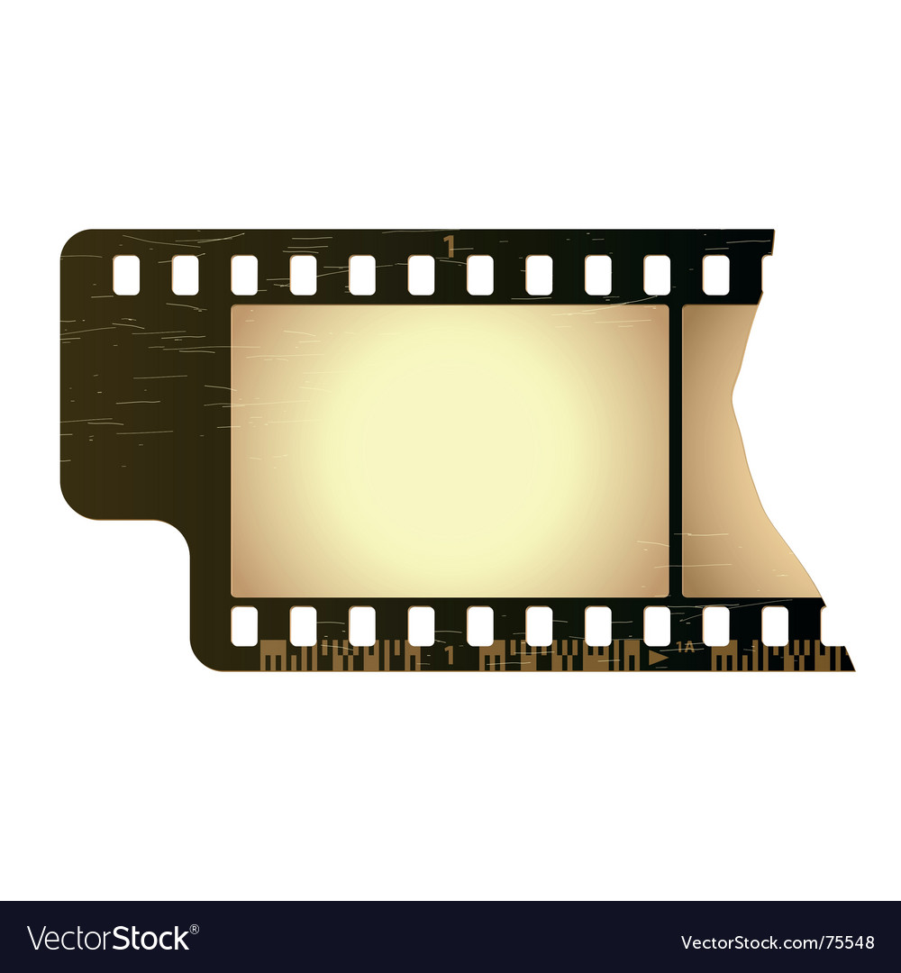 Grunge film frame vector | Price: 1 Credit (USD $1)
