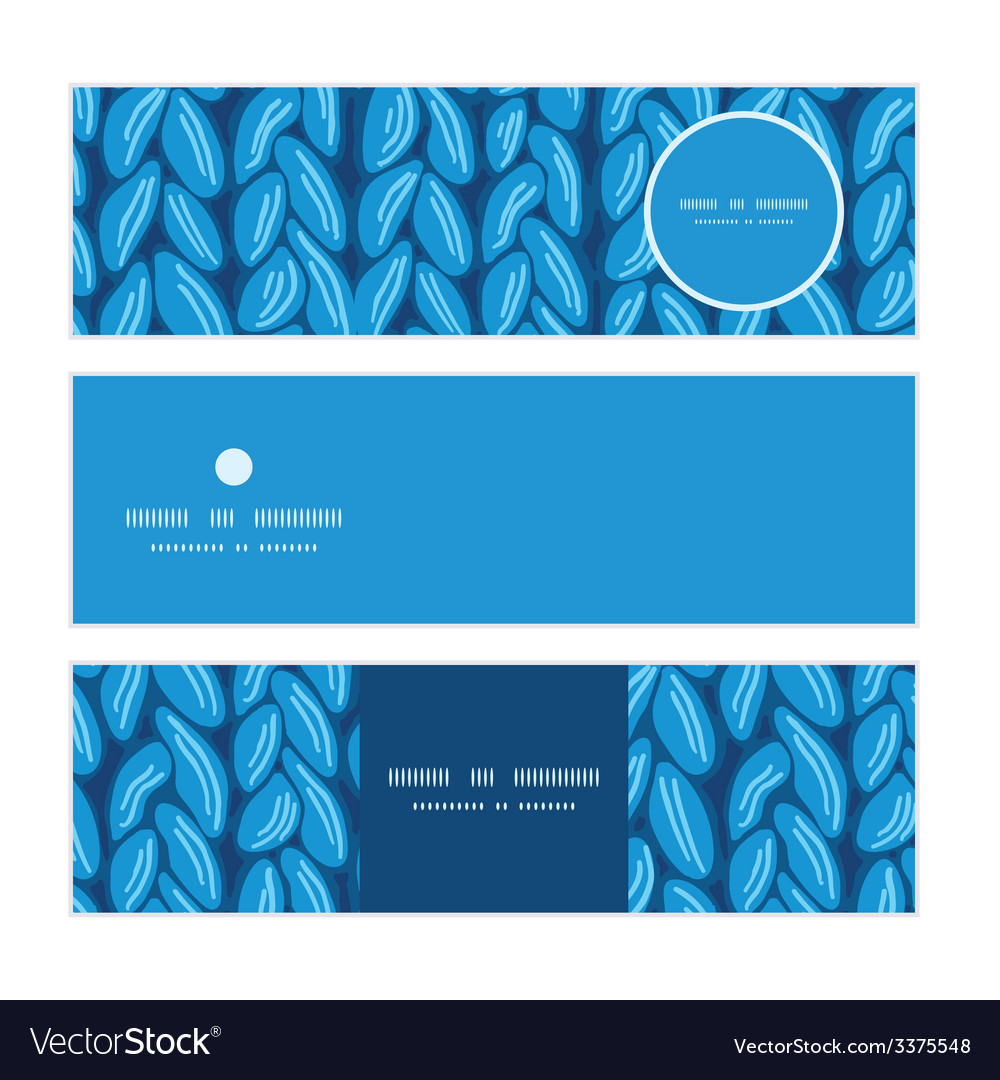 Knit sewater fabric horizontal texture horizontal vector | Price: 1 Credit (USD $1)