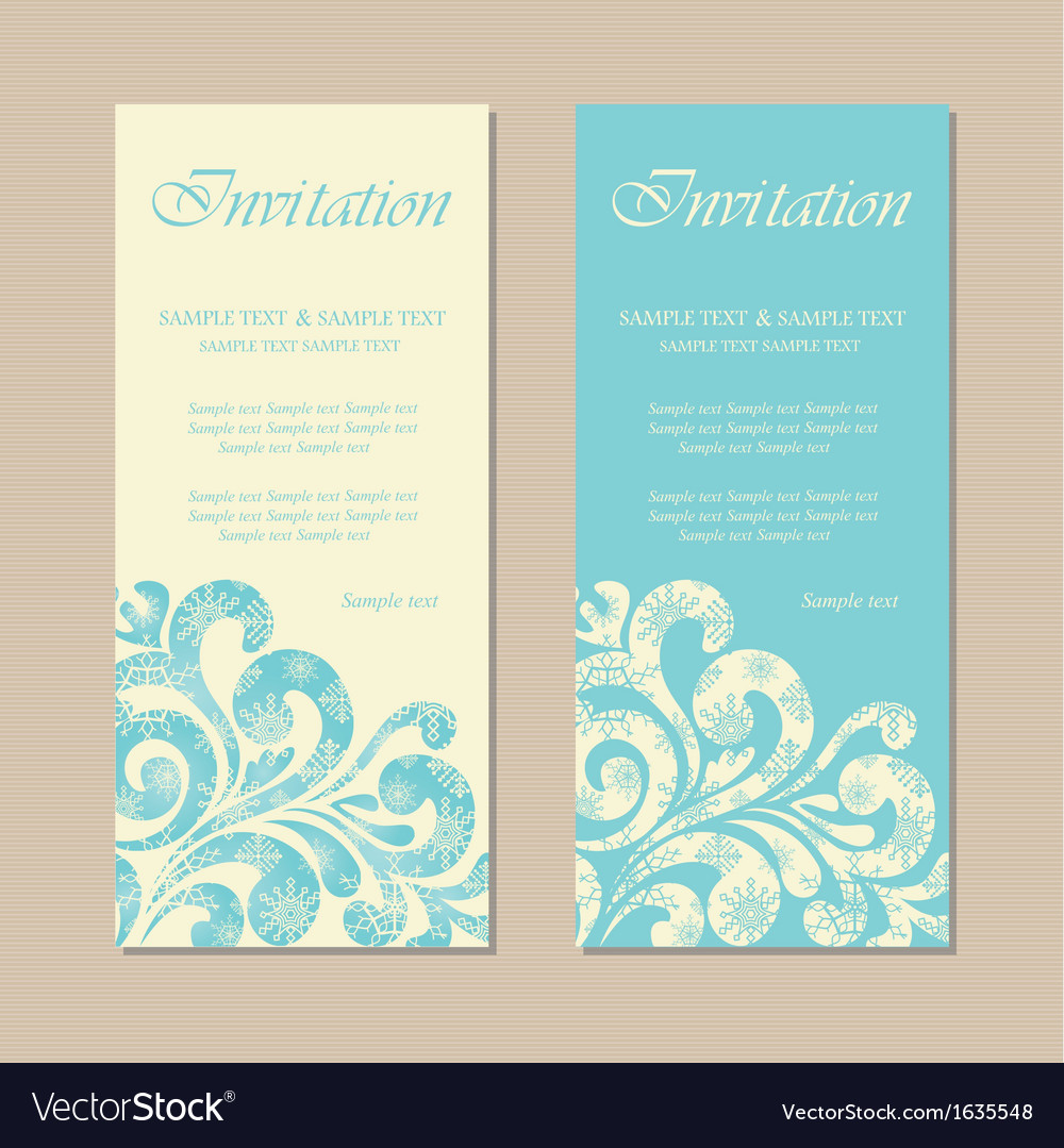 Ny invitation vector | Price: 1 Credit (USD $1)