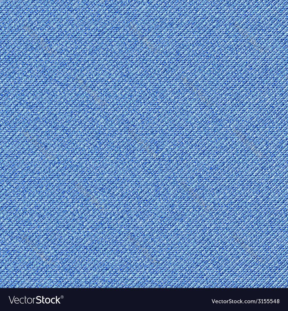 Seamless texture of blue denim diagonal hem vector | Price: 1 Credit (USD $1)