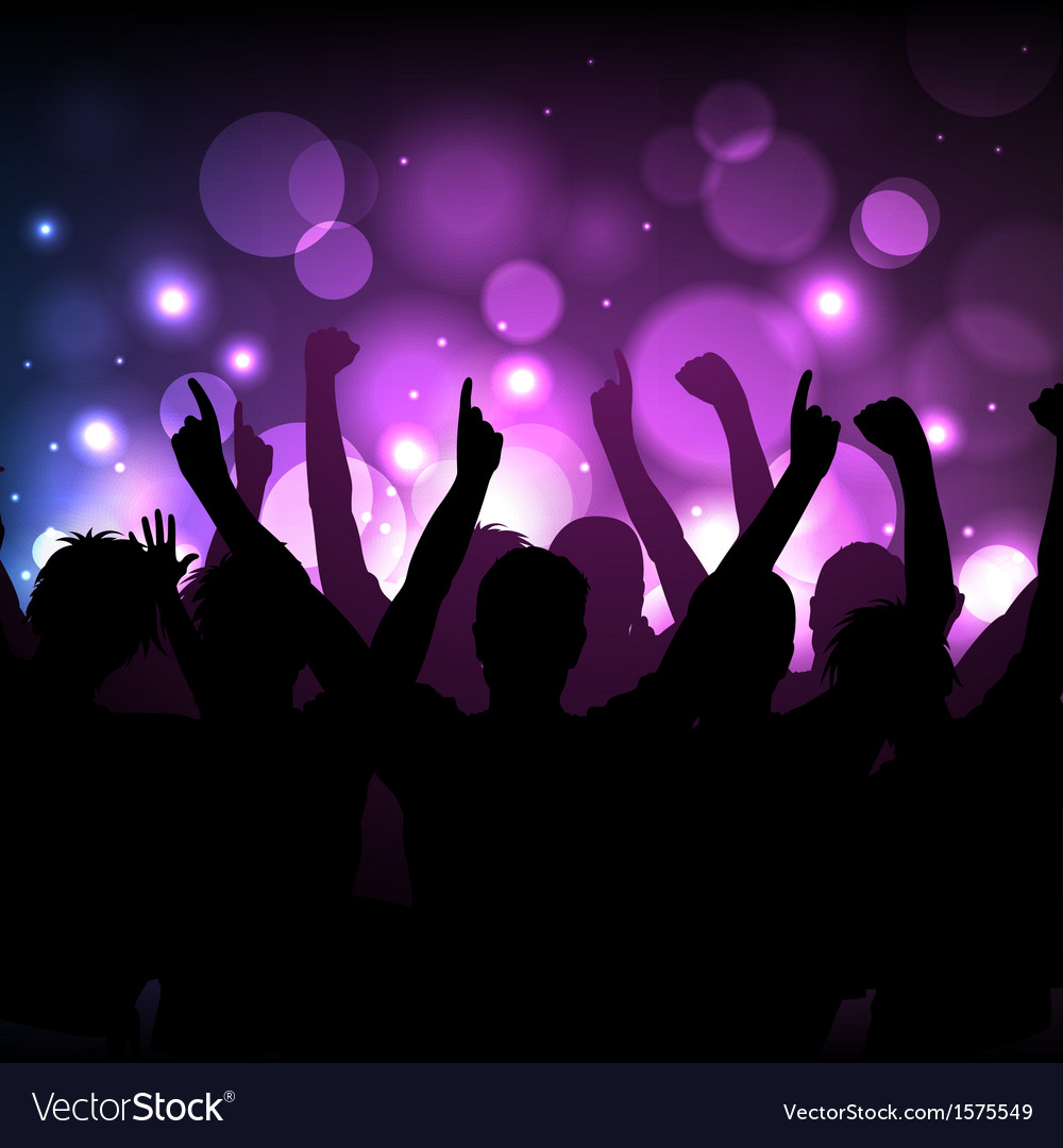 Concert or club background vector | Price: 1 Credit (USD $1)