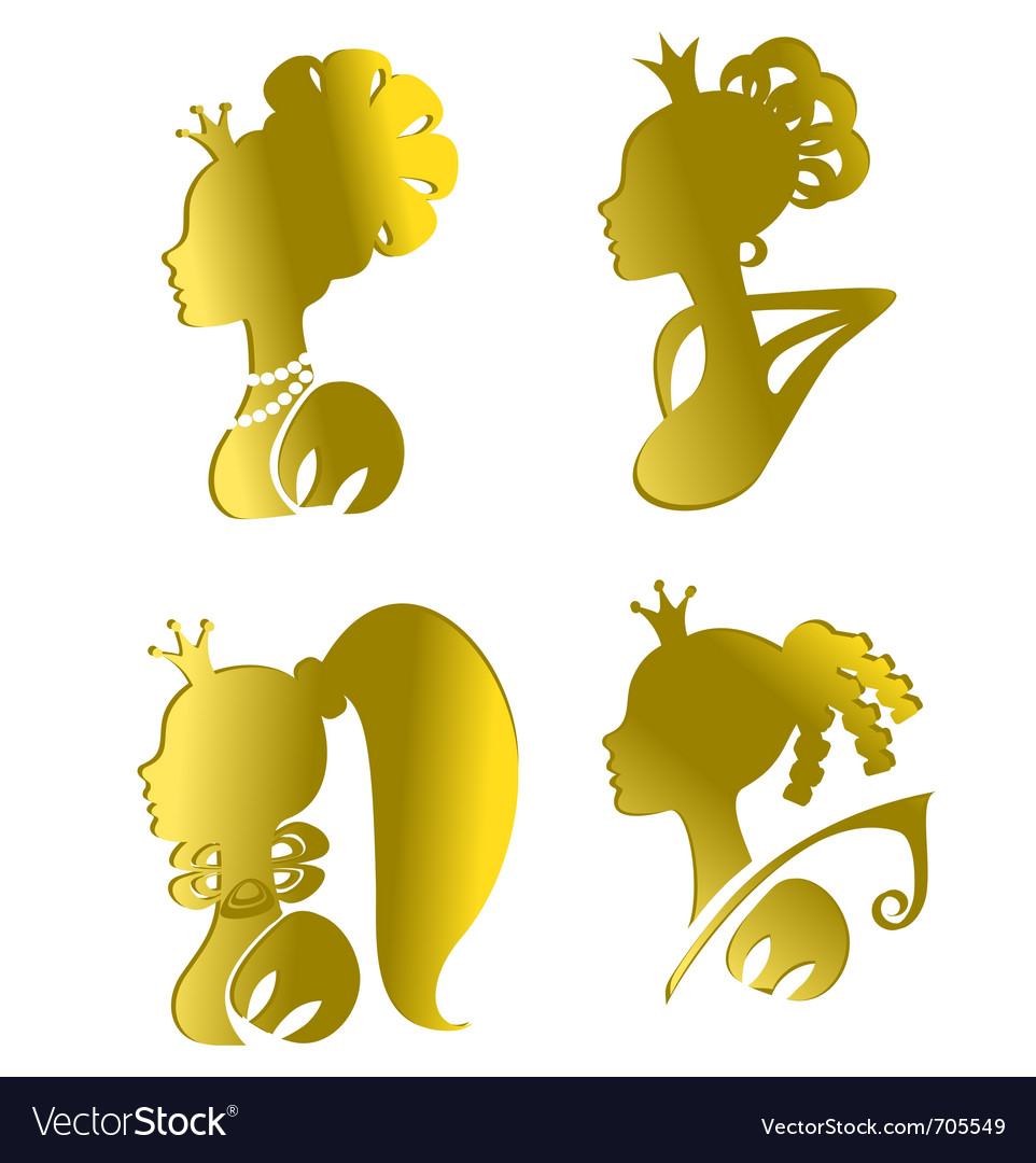 Princesses vector | Price: 1 Credit (USD $1)