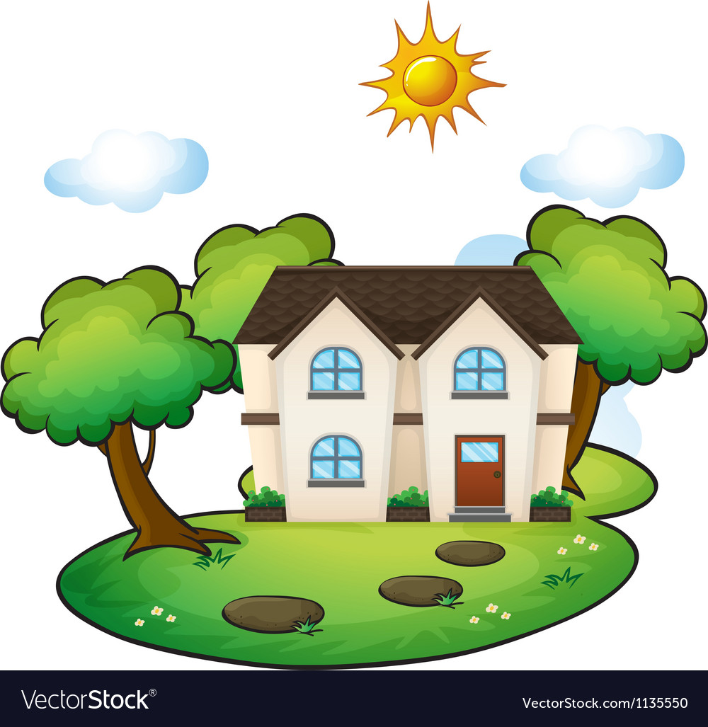 A house vector | Price: 1 Credit (USD $1)