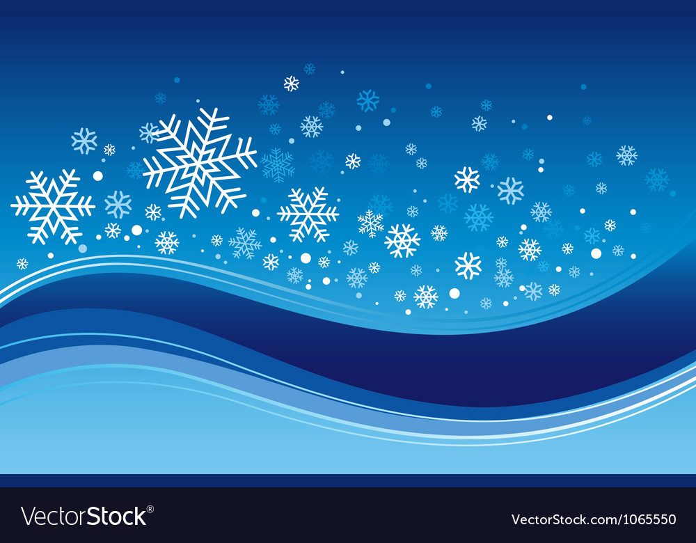 Christmas wave background vector | Price: 1 Credit (USD $1)