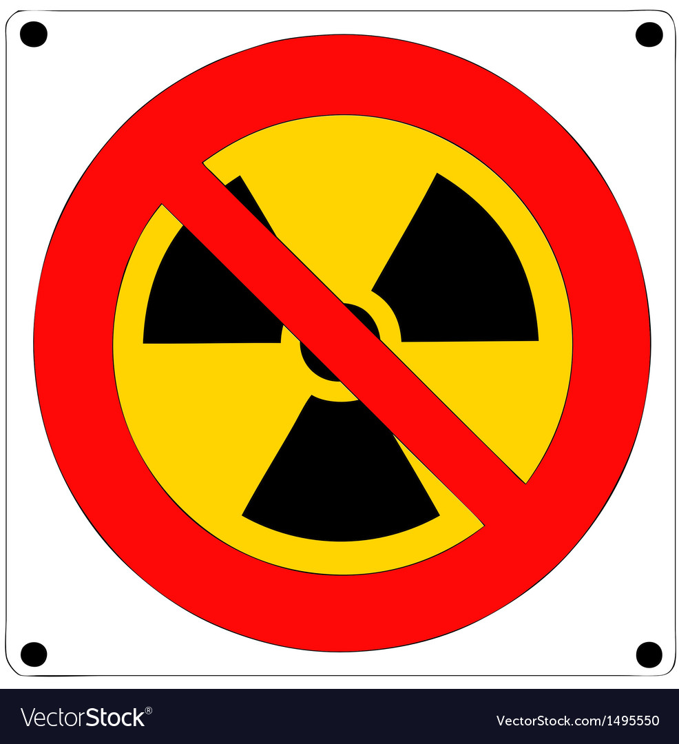 Prohibition of nuclear radiation vector | Price: 1 Credit (USD $1)