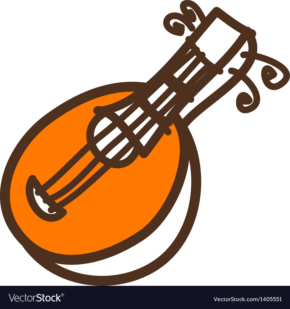 A stringed instrument vector | Price: 1 Credit (USD $1)