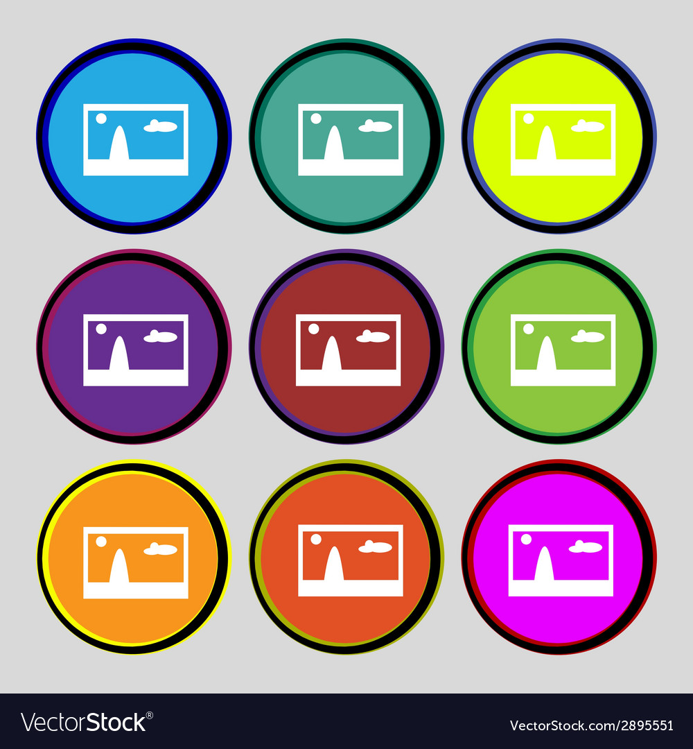 File jpg sign icon download image file symbol set vector | Price: 1 Credit (USD $1)