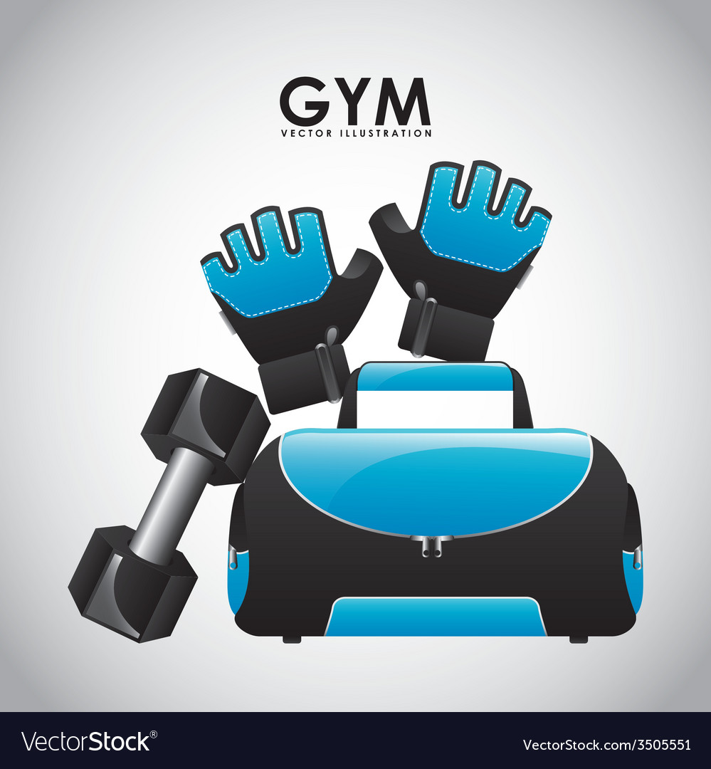 Gym design vector | Price: 1 Credit (USD $1)