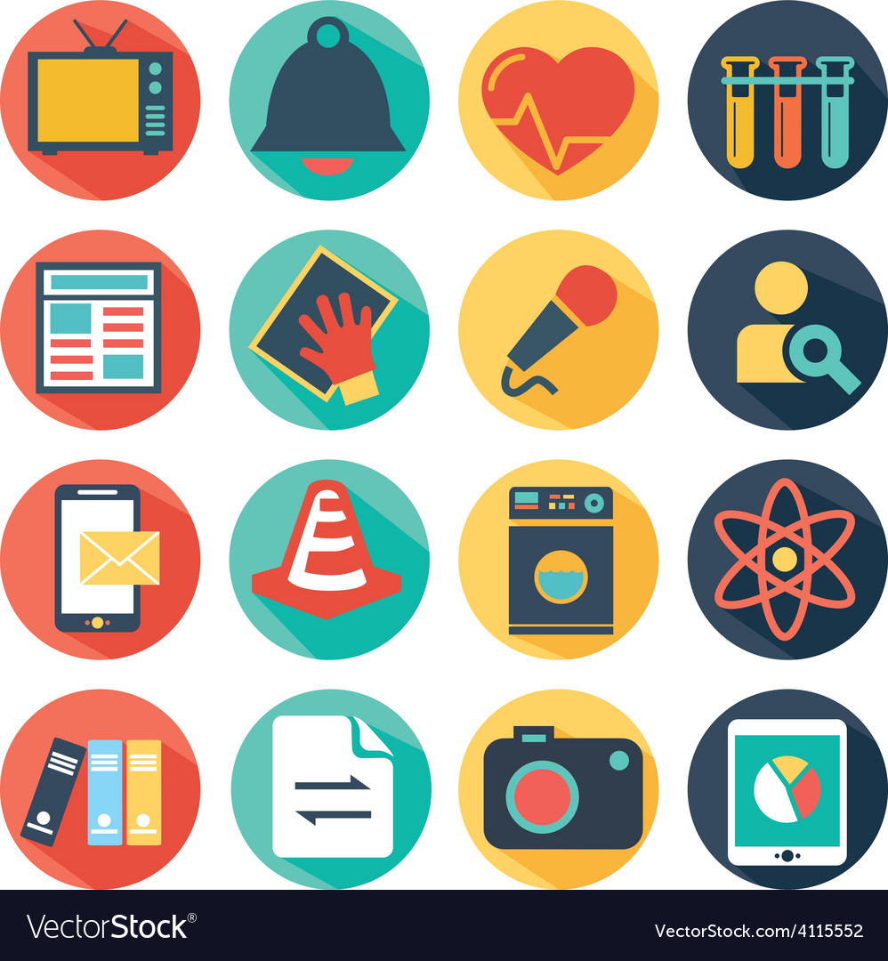 Web design and technology icons vector   Price: 1 Credit (USD $1)